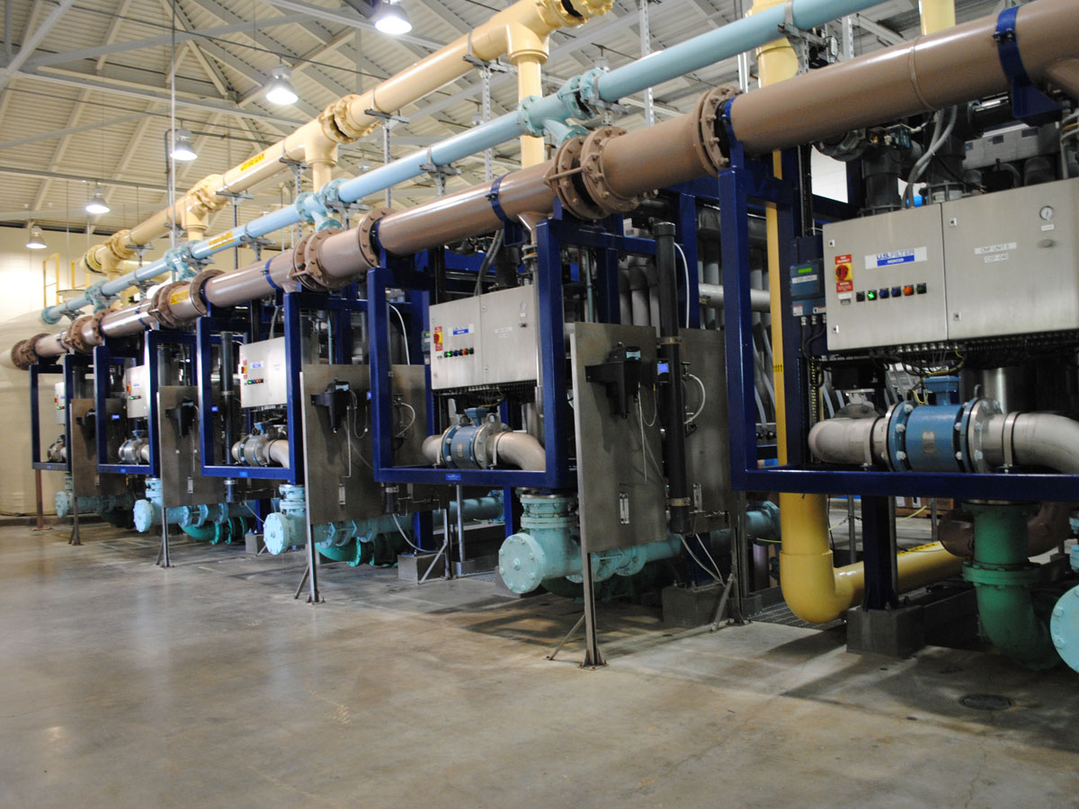 Since 2002, water from the spring has been filtered at the Crystal Spring Ultrafiltration Facility.
