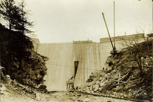 Carvins Cove Dam12-19-1927