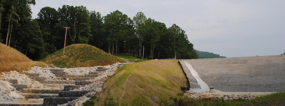 Falling Creek Dam and Spillway