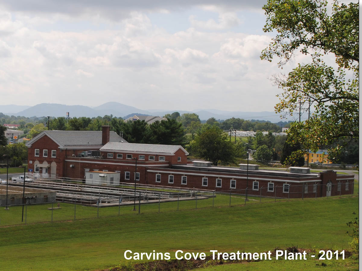 Carvins Cove Treatment Plant Today